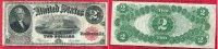 USA 2 Dollars USA  2 Dollars Banknote Serie 1917