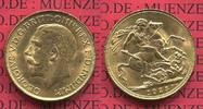 Sovereign Goldmünze 1925 England  Great Britain UK Süd Afrika England 1... 395,00 EUR  Excl. 8,50 EUR Verzending