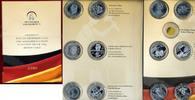 6 x 10 Euro + 6 Silbermedaillen 2010 Bundesrepublik Deutschland BRD 6 x... 115,00 EUR  +  8,50 EUR shipping