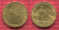 10 Dollars Eagle Indian Head 1909 USA USA 10 Dollars Indianerkopf, Indi... 795,00 EUR  +  8,50 EUR shipping