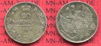 20 Kopeken 1839 Russland Russia Russland R...