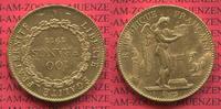 100 Francs Goldmünze, Goldcoin 1911 Frankr...