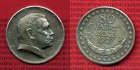 Silbermedaille  1927 Deutsches Reich Auf den 80. Geburtstag Hindenburg ... 75,00 EUR72,00 EUR  +  8,50 EUR shipping