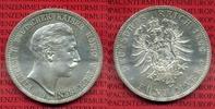 5 Mark Silbermünze 1888 Preußen Preußen 5 ...