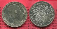 5 Mark Silber 1904 Hessen, Hesse, State of...