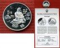 5 Yuan Silbermünze 1997 China Volksrepublik PRC China 5 Yuan Silber 199... 80,00 EUR  +  8,50 EUR shipping