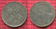 Florin, 2 ShillingGothic Type 1858 England Great Britain Grossbritannie... 150,00 EUR  +  8,50 EUR shipping