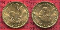 Süd Afrika, South Africa 2 Rand Goldmünzen Südafrika 1964 2 Rand Springbock Gold Kursmünze Selten