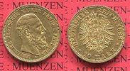 Preußen, State of Prussia German Empire 10 Mark Goldmünze 10M Preußen 10 Mark Gold 1888 A,  J. 247 Friedrich III. vz