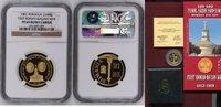 1000 Lei Goldmünze 2001 Rumänien, Romania ...