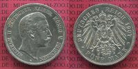 5 Mark Silbermünze 1907 Preußen, Prussia G...