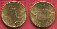 20 Dollars 1924 USA St. Gaudens Typ Double...