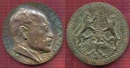 Bronze 1930 Personenmedaille Provinz Hesse...