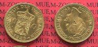10 Gulden Goldmünze Kursmünze 1925 Niederl...