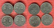 4 x 2 DM 1951 D F G J Bundesrepublik Deutschland Weintrauben Ähren komp... 65,00 EUR  +  8,50 EUR shipping