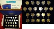 21 x 2 Euro Gedenkmünzenset 2012 Europa Ze...