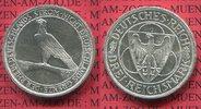 3 Mark Silber Gedenkmünze 1930 G Weimarer ...