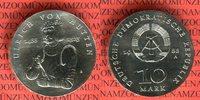 10 Mark Silbergedenkmünze 1988 DDR Gedenkm...
