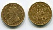 1 Pond Pfund 1893 Süd Afrika Gold Ohm Krüg...