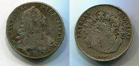 1/2 Taler 1766 Bayern Maximilian II. Josep...