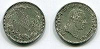 1/6 Taler 1827 Sachsen, Albertinische Lini...