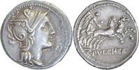 C.Claudius Pulcher,Denar Rom.110-109 v....