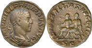 Philippus II.Sesterz 246-249 n.Chr.Rom. Vorzüglich  275,00 EUR  +  5,00 EUR shipping