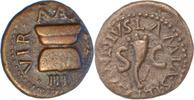 Augustus,Quadrans,Rom. vorzüglich  75,00 EUR  +  5,00 EUR shipping