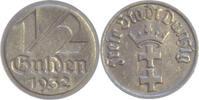 Polen,1/2 Gulden 1932 Danzig,Freie Stadt. fast vorzüglich  45,00 EUR  +  5,00 EUR shipping