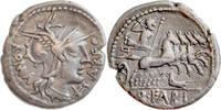 Quintus Fabius Labeo,Denar 124 v.Chr.,R...