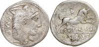 L.Thorius Balbus,Denar 105 v.Chr.Rom. ss/f.ss,leicht wellig  45,00 EUR  +  5,00 EUR shipping