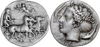 Sizilien, Syracus, Hemidrachme 410-405 v.Chr. Vorzüglich  1975,00 EUR  +  15,00 EUR shipping