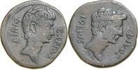 Kopf des Octavianus r./Kopf des Julius Caesar. gutes sehr schön  1935,00 EUR  +  15,00 EUR shipping