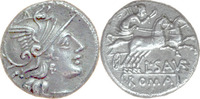 L.Saufeius,Denar 152 v.Chr.,Rom. fast v...
