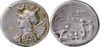 P.Licinius Nerva,Denar 113-112 v.Chr.,Rom. Vorzüglich  398,00 EUR  +  5,00 EUR shipping