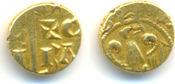 Gold Tari  Sizilien: Manfred von Hohenstaufen, 1258-1266: ss
