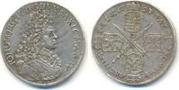 2/3 Taler 1693 I-K Sachsen: Johann Georg I...