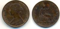 1/2 Penny 1862 Grossbritannien: Victoria, ...