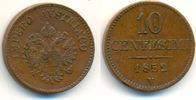 10 Centesimi Venedig 1852 V Österreich: Fr...