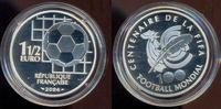 1,5 Euro, 100 Jahre Fifa, Silber 2004 Fran...