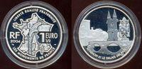 1,5 Euro, Avignon mit Palais des Papstes 2...