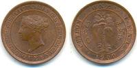 Cent 1900 Sri Lanka / Ceylon: Victoria von...
