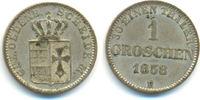 1 Groschen 1858 B Oldenburg: Nicolaus Frie...