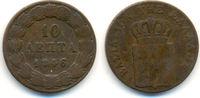 10 Lepta 1846 Griechenland: Otto von Bayer...
