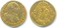 1/2 Escudo Mzst. Madrid. Gold. 1788 M Span...