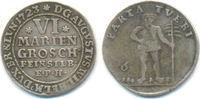 6 Mariengroschen 1723 EPH Braunschweig Wol...