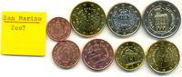 Kursmünzensatz 2007 2007 San Marino:  stgl