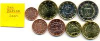 Kursmünzensatz 2008 2007 San Marino:  stgl