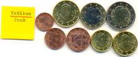 Kursmünzensatz 2008 2008 Vatikan:  stgl
