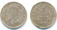 20 Centimes 1867 A Frankreich: Napoleon II...